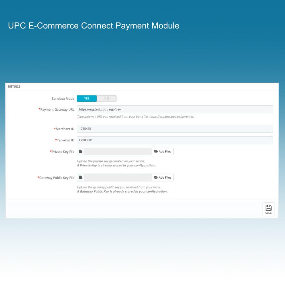 module - Paiement par Carte ou Wallet - UPC E-Commerce Connect Payment - 3