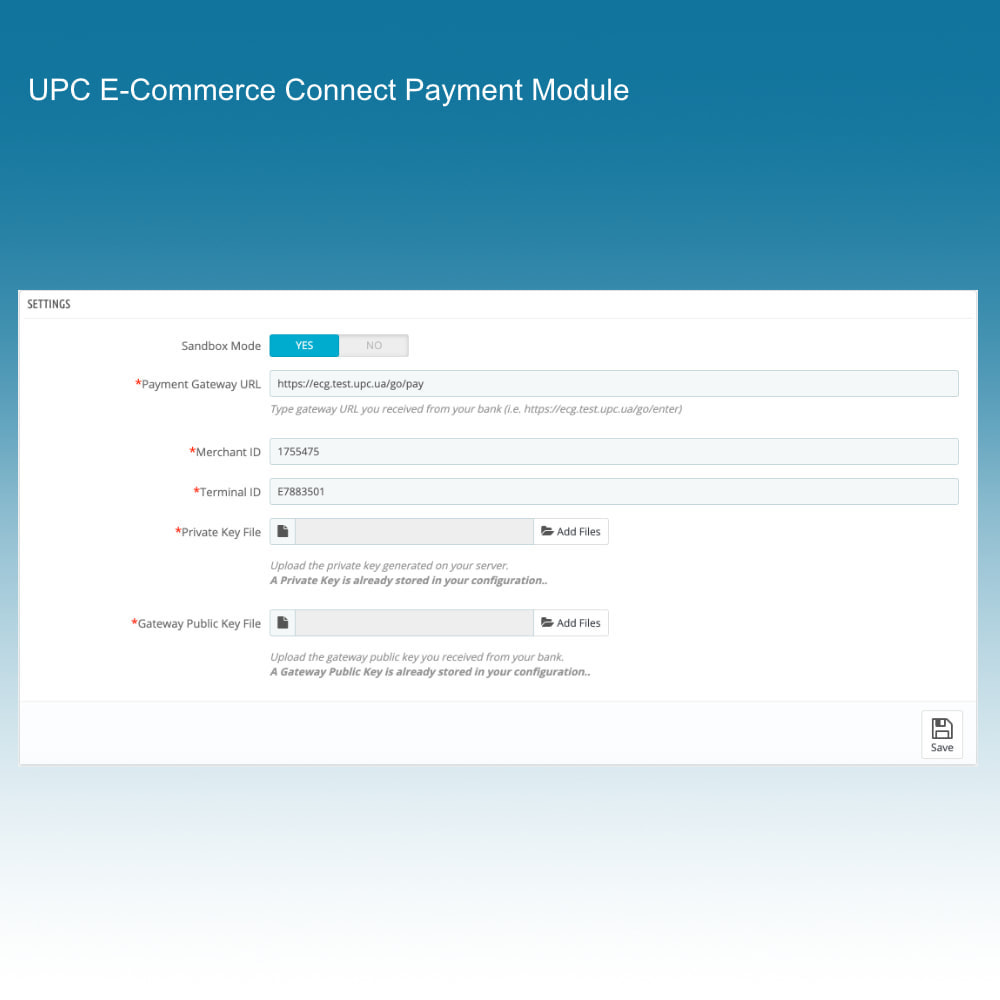 module - Creditcardbetaling of Walletbetaling - UPC eCommerce Connect Payment - 3