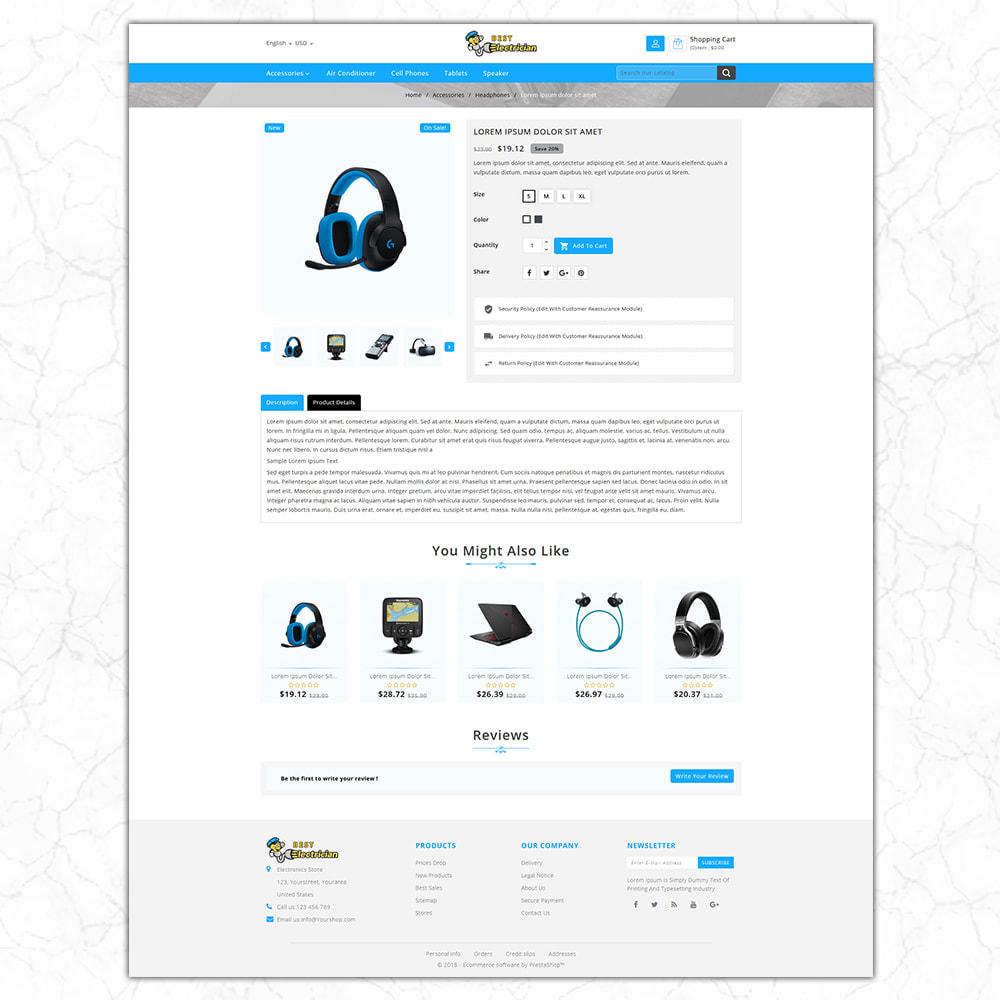 theme - Electronics & Computers - Best Electrician- the Electronics shop - 5