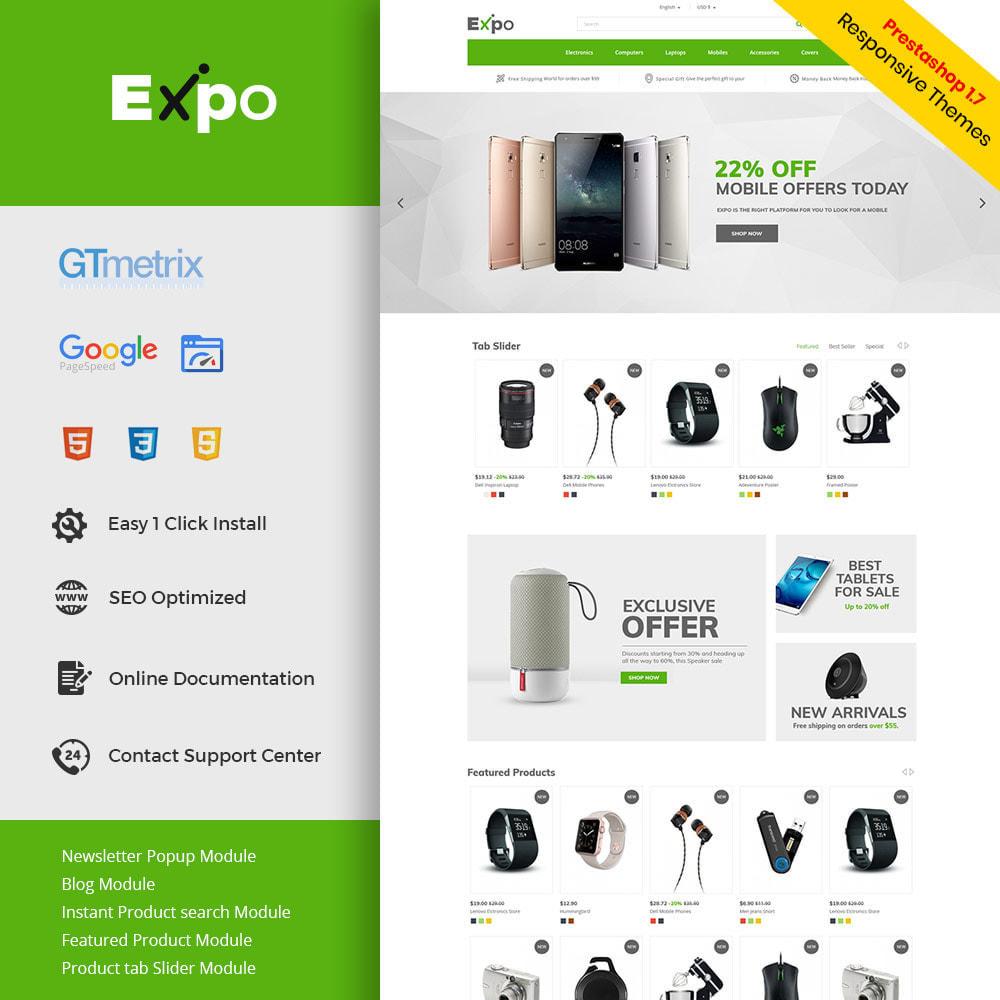 theme - Electrónica e High Tech - Móvil - Tienda electrónica de teléfonos inteligentes - 1