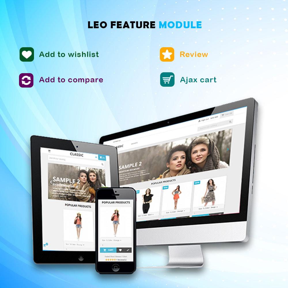 module - Combinaciones y Personalización de productos - Leo Feature Multipurpose - 1