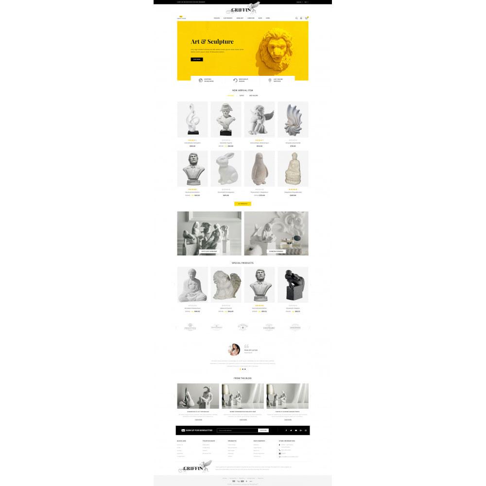 theme - Kultura & Sztuka - Griffin - Art Gallery Store - 2