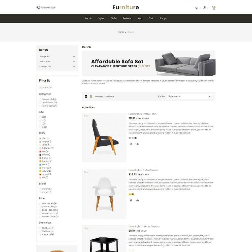 theme - Maison & Jardin - Interior Designer - Furniture Wood Store - 4