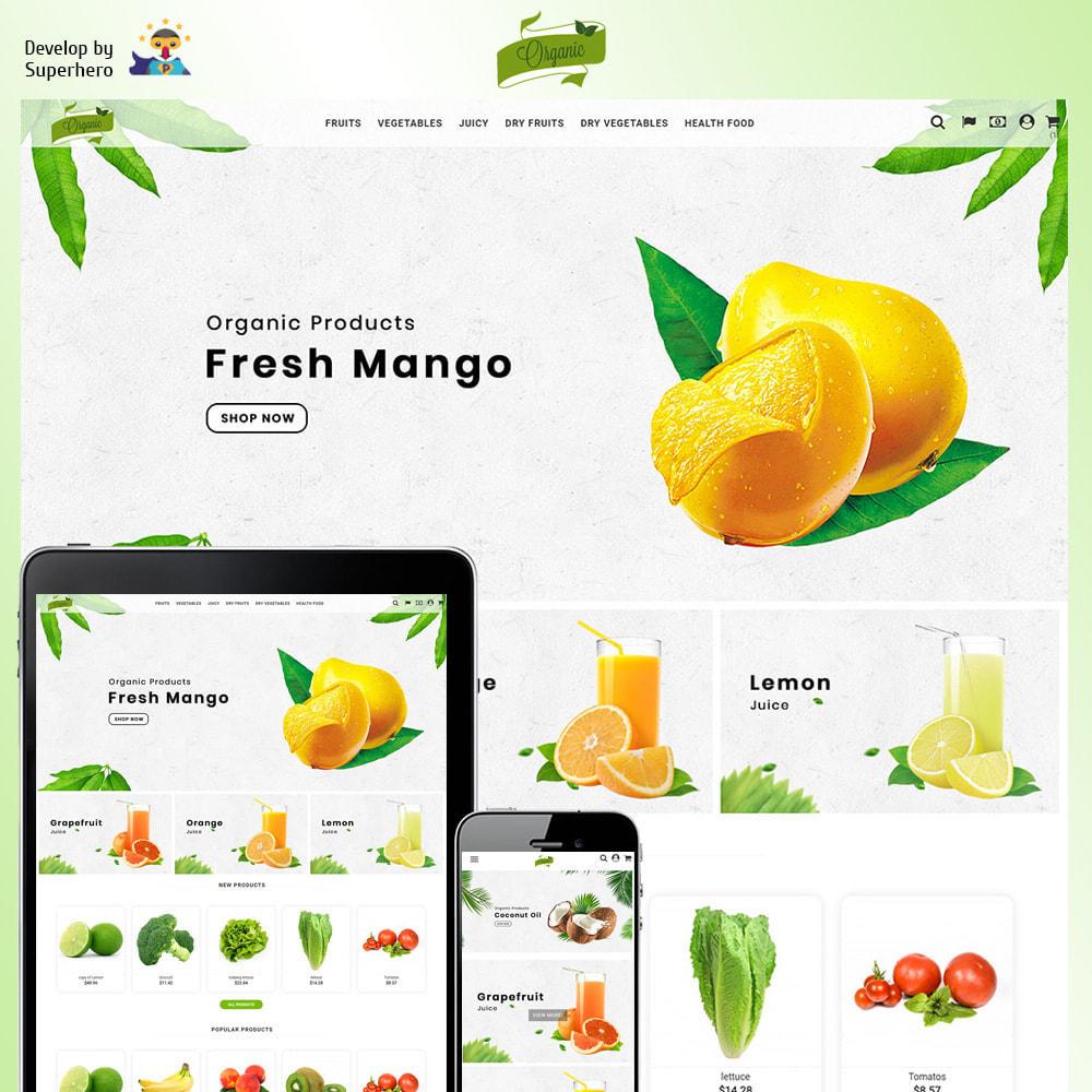 theme - Żywność & Restauracje - Natural Organic - 2