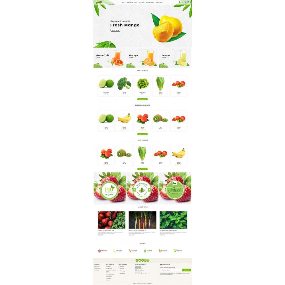 theme - Żywność & Restauracje - Natural Organic - 3