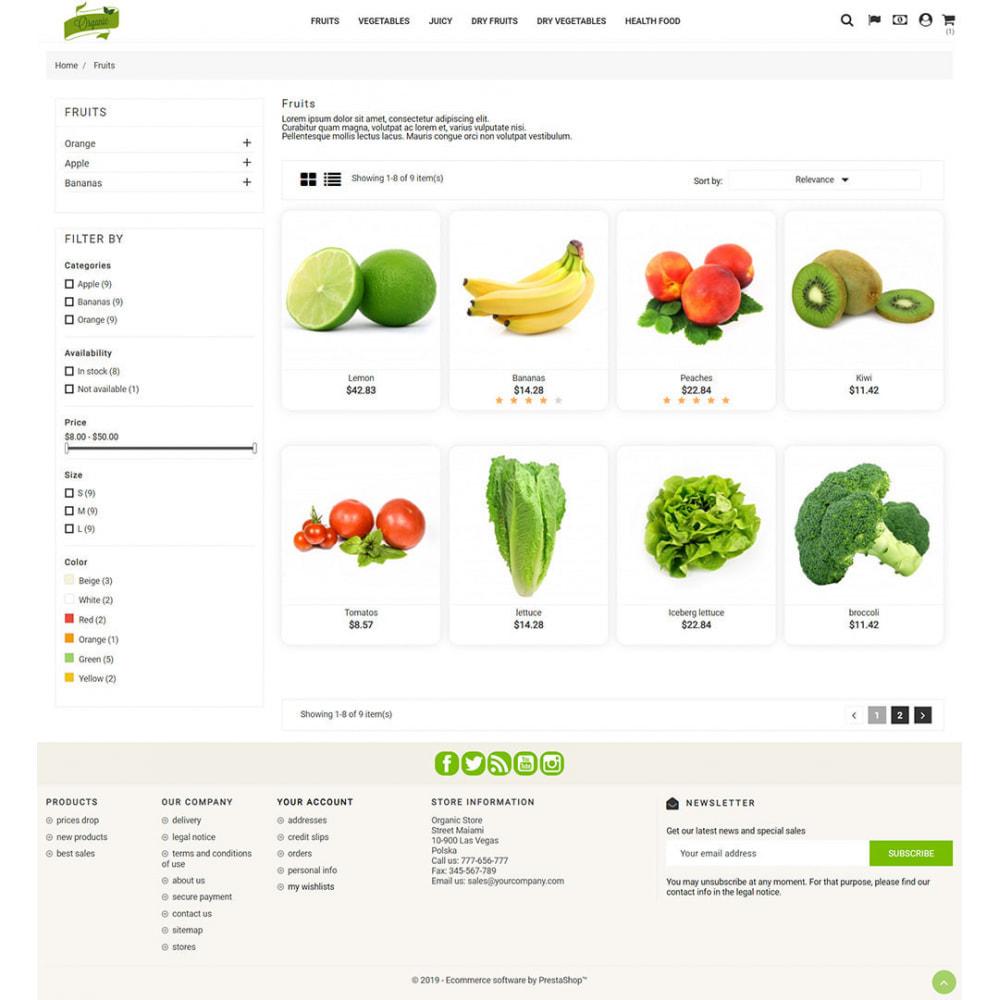 theme - Żywność & Restauracje - Natural Organic - 5