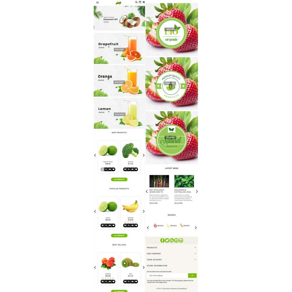 theme - Żywność & Restauracje - Natural Organic - 6