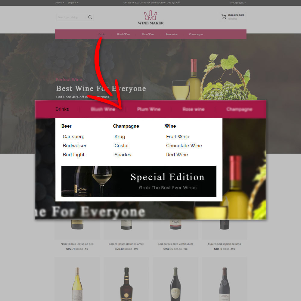 theme - Drink & Tobacco - Wine maker Shop - 7