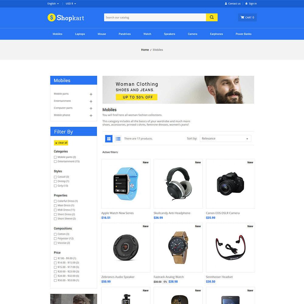 theme - Elektronik & High Tech - Shopkart Electronics - Digital Mobile Store - 6