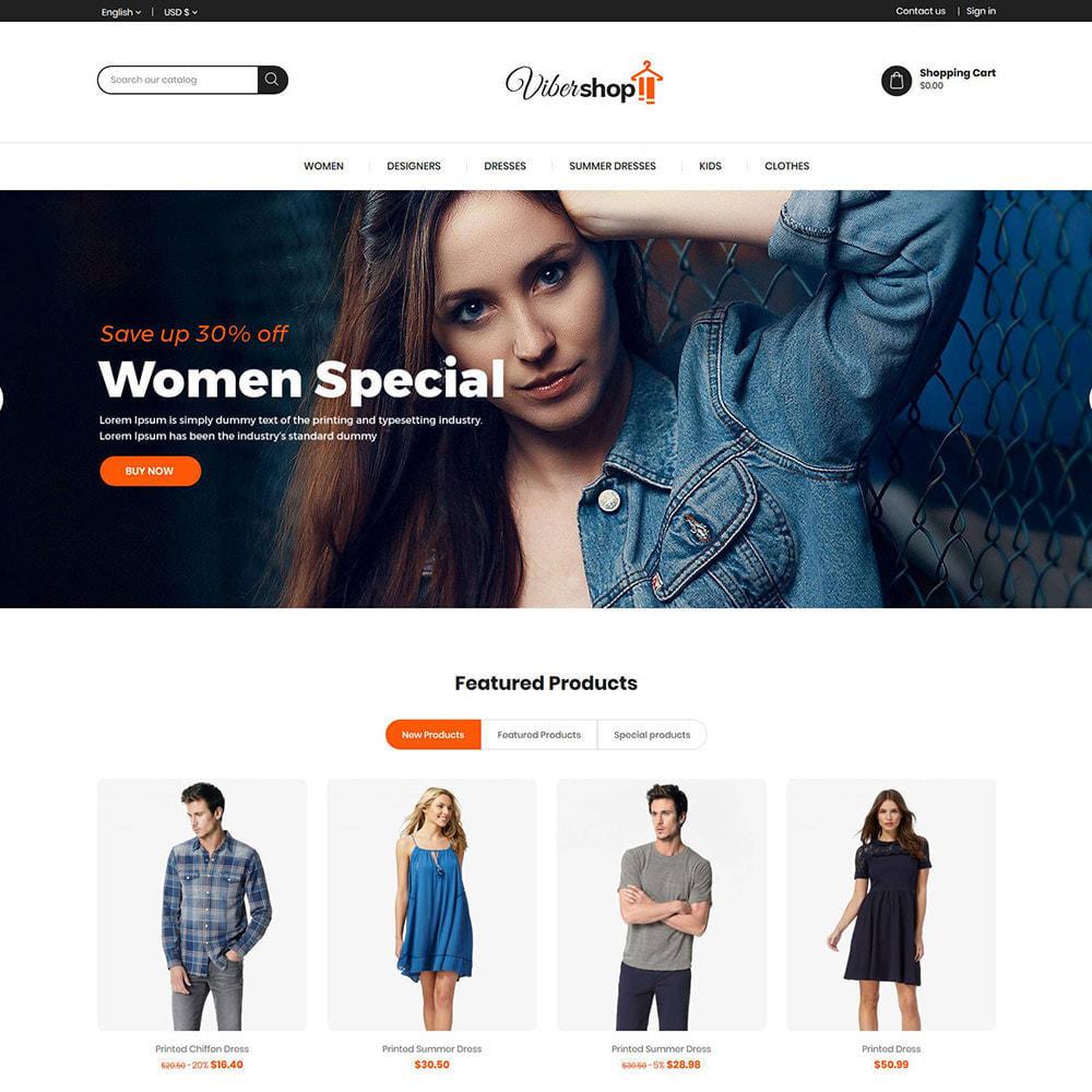 theme - Moda & Calzature - Abiti di moda - Negozio di accessori da donna - 2