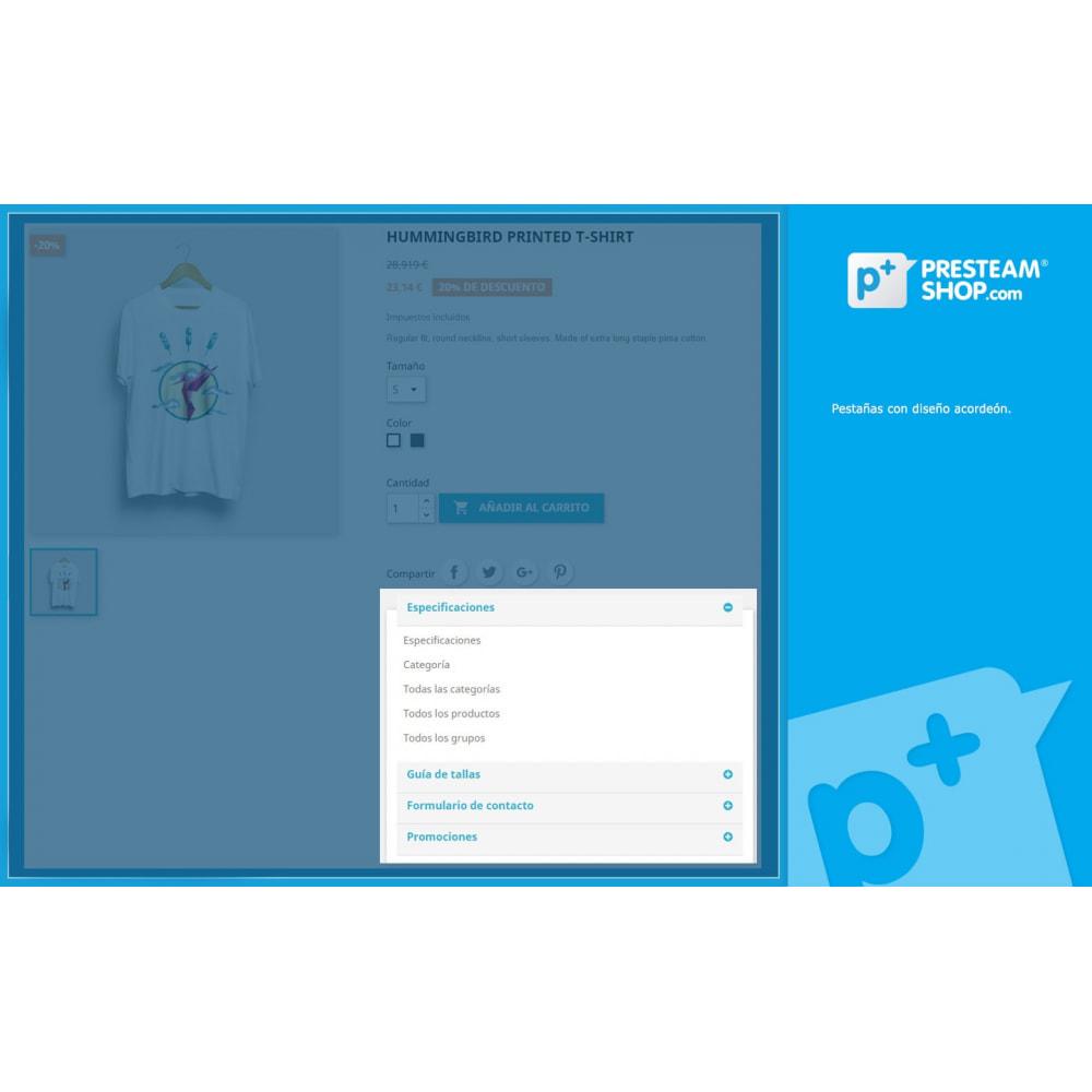 module - Informaciones adicionales y Pestañas - Product Extra Tabs - Pestañas informativas adicionales - 2