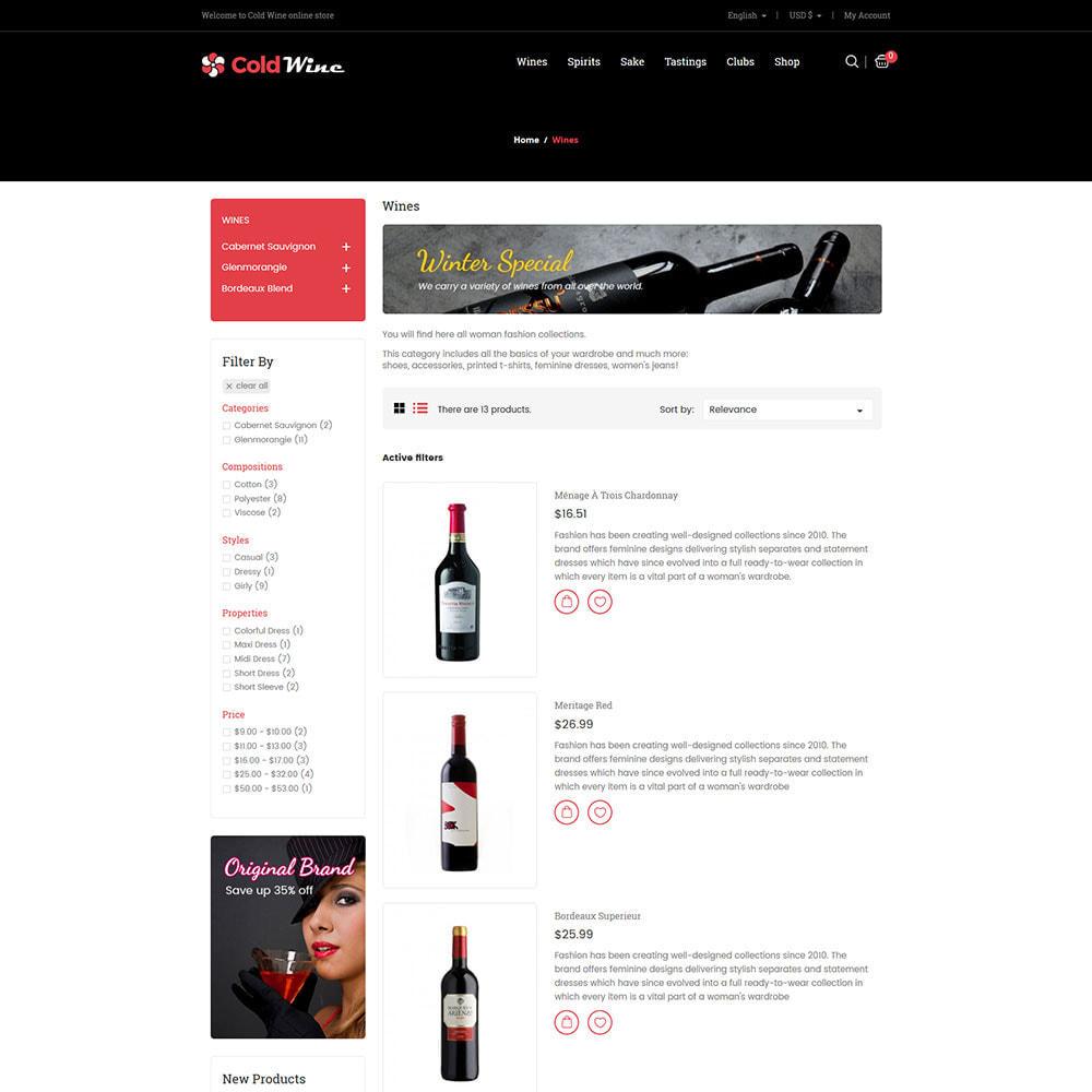 theme - Boissons & Tabac - Vin froid - Magasin de boissons alcoolisées - 5