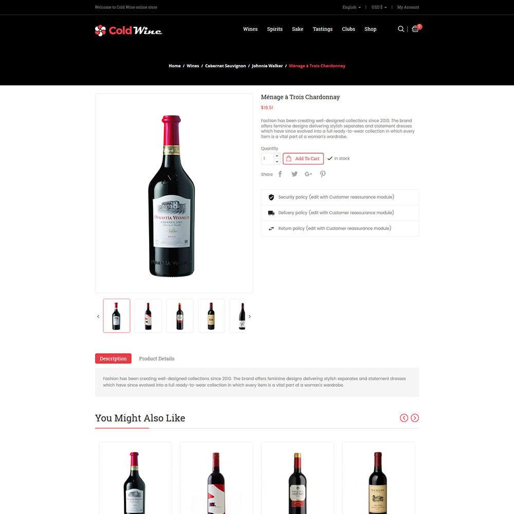 theme - Drank & Tabak - Koude wijn - winkel voor alcoholische dranken - 6