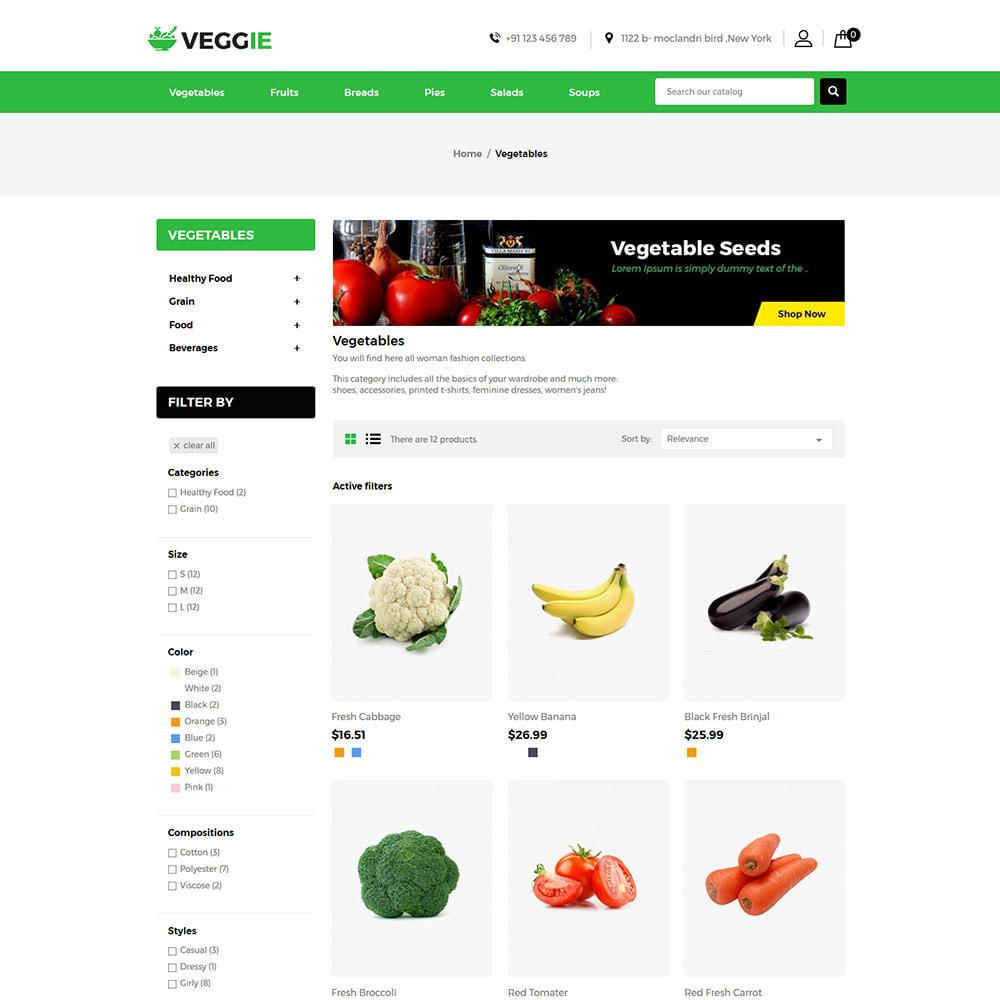 theme - Alimentos & Restaurantes - Vegitables Food - Mercearia de Frutas - 4