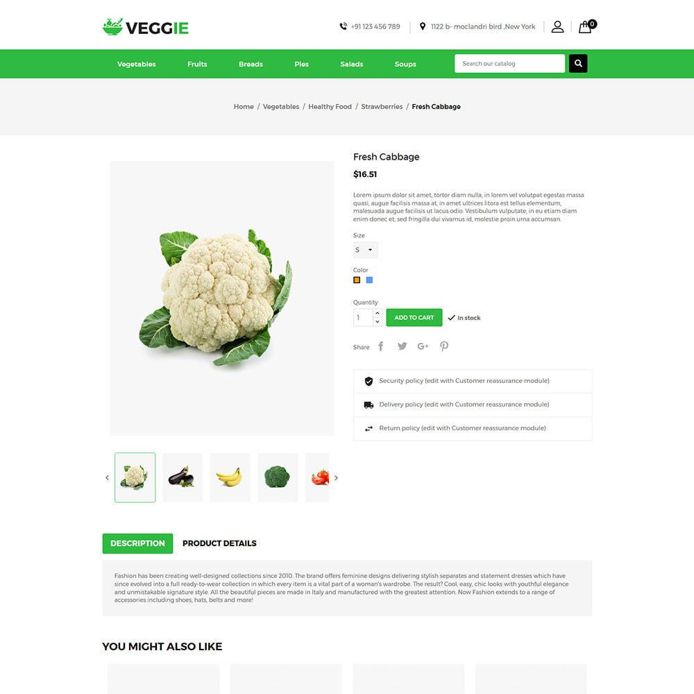 theme - Gastronomía y Restauración - Alimentos Vegetales - Tienda de frutas - 6