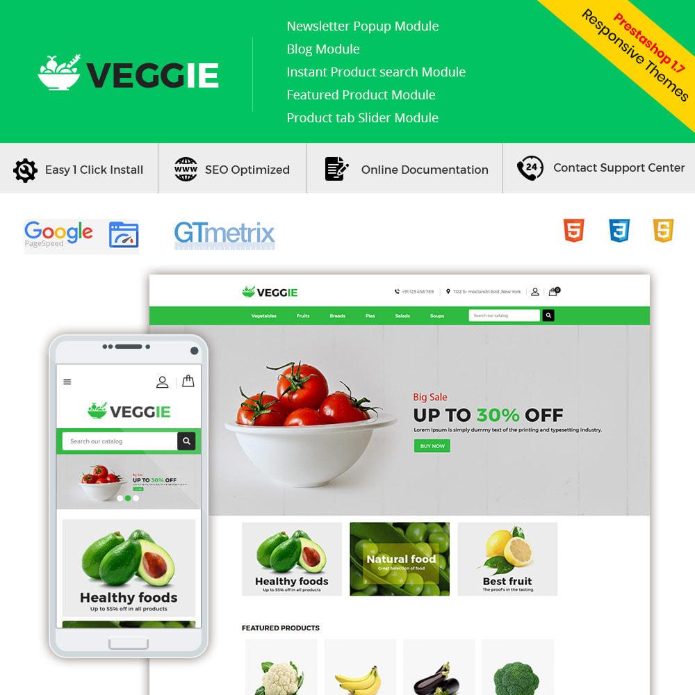 theme - Alimentation & Restauration - Vegitables Food - Épicerie de fruits - 2