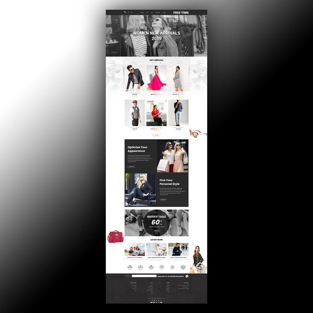 theme - Moda y Calzado - Freetime - Fashion Store - 8