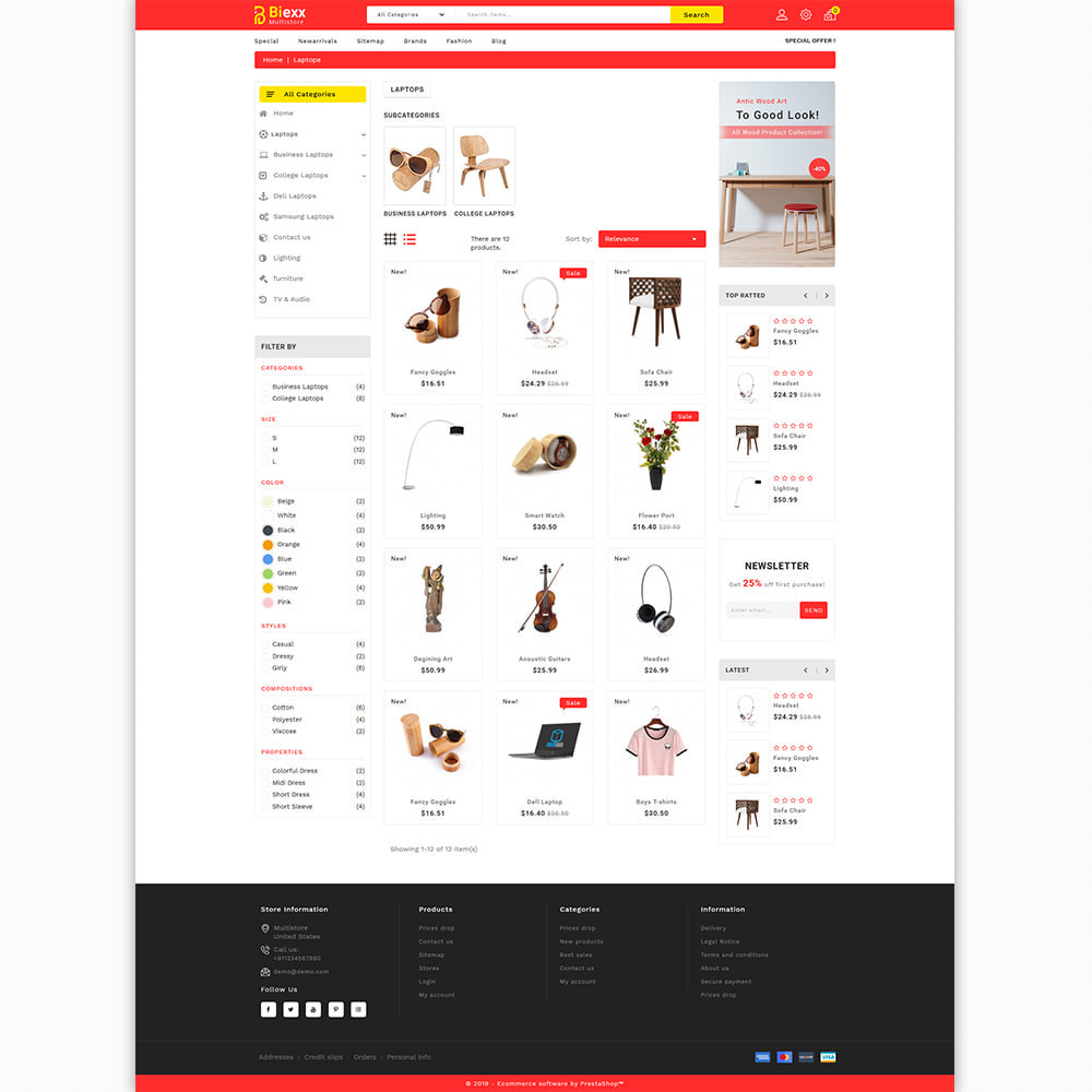theme - Electronics & Computers - Biexx - The Best Mutistore Store - 3