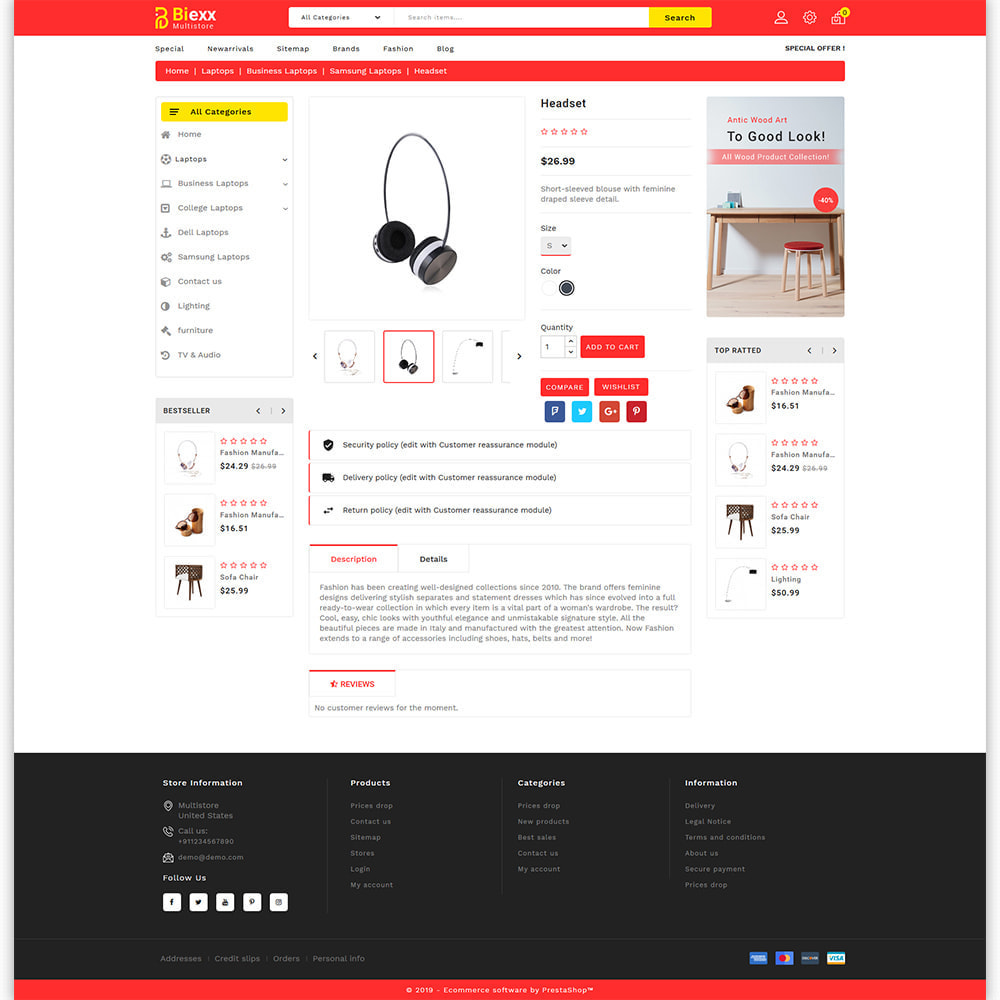 theme - Electronics & Computers - Biexx - The Best Mutistore Store - 6