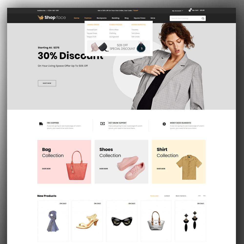 theme - Moda & Obuwie - Shopface - Fashion Store - 2