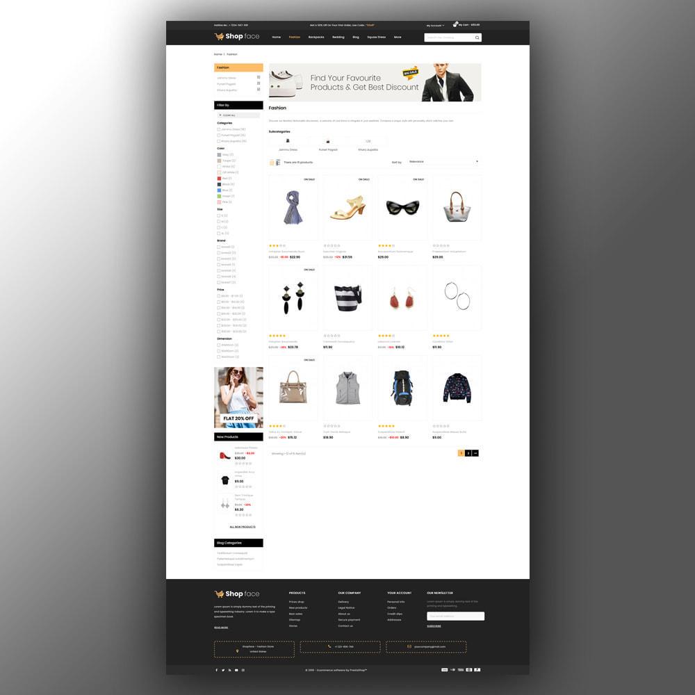 theme - Moda & Obuwie - Shopface - Fashion Store - 4