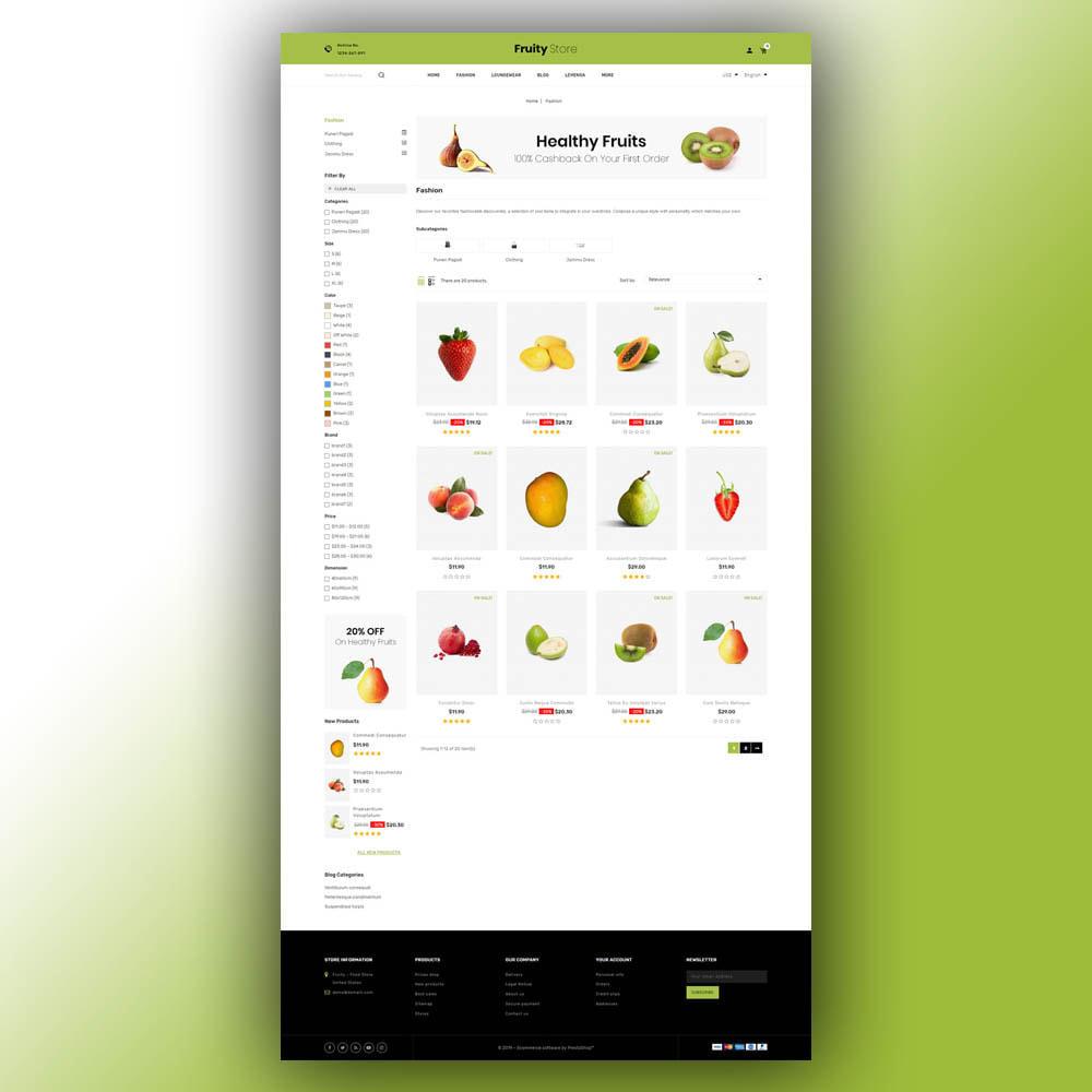 theme - Żywność & Restauracje - Fruity - Fruit Store - 4