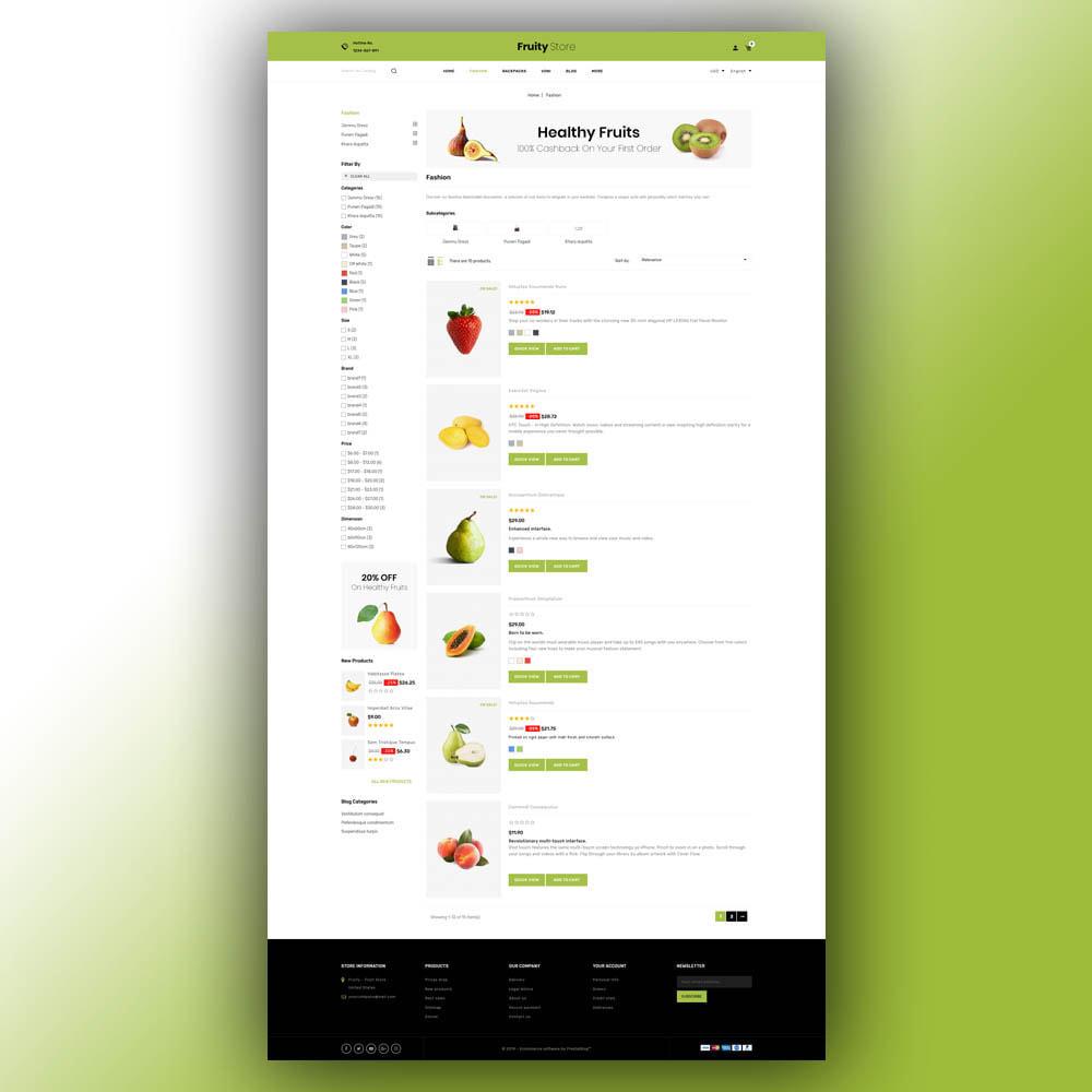 theme - Food & Restaurant - Fruity - Fruit Store - 5