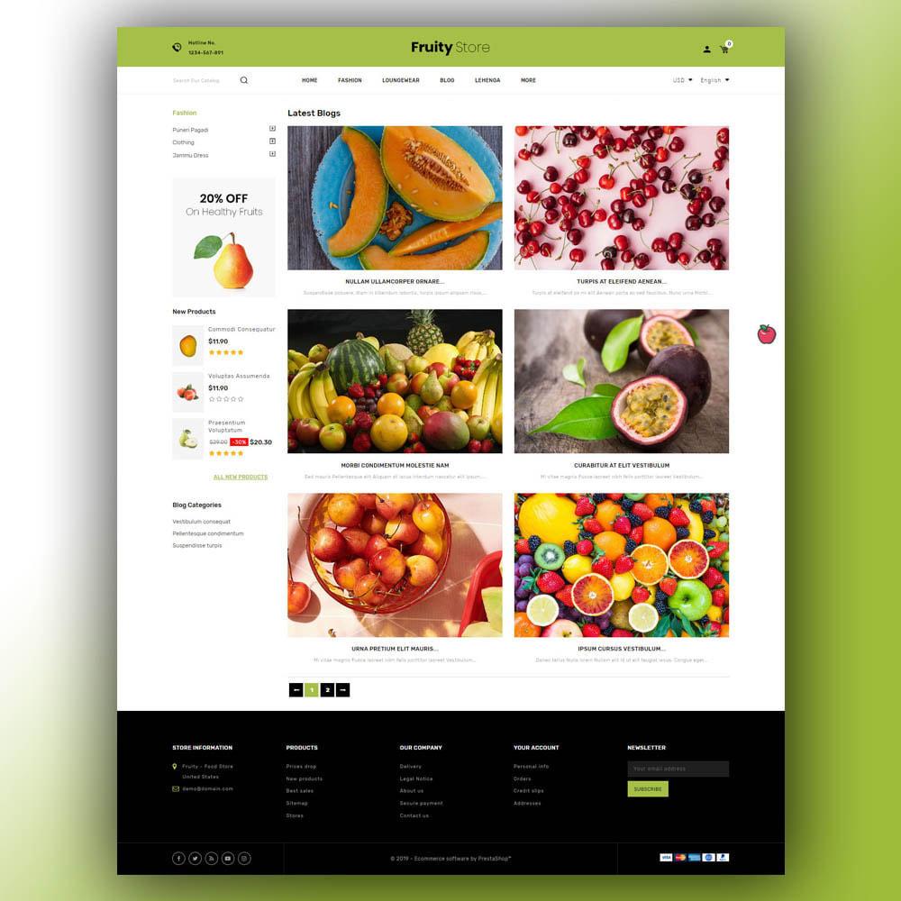theme - Żywność & Restauracje - Fruity - Fruit Store - 7