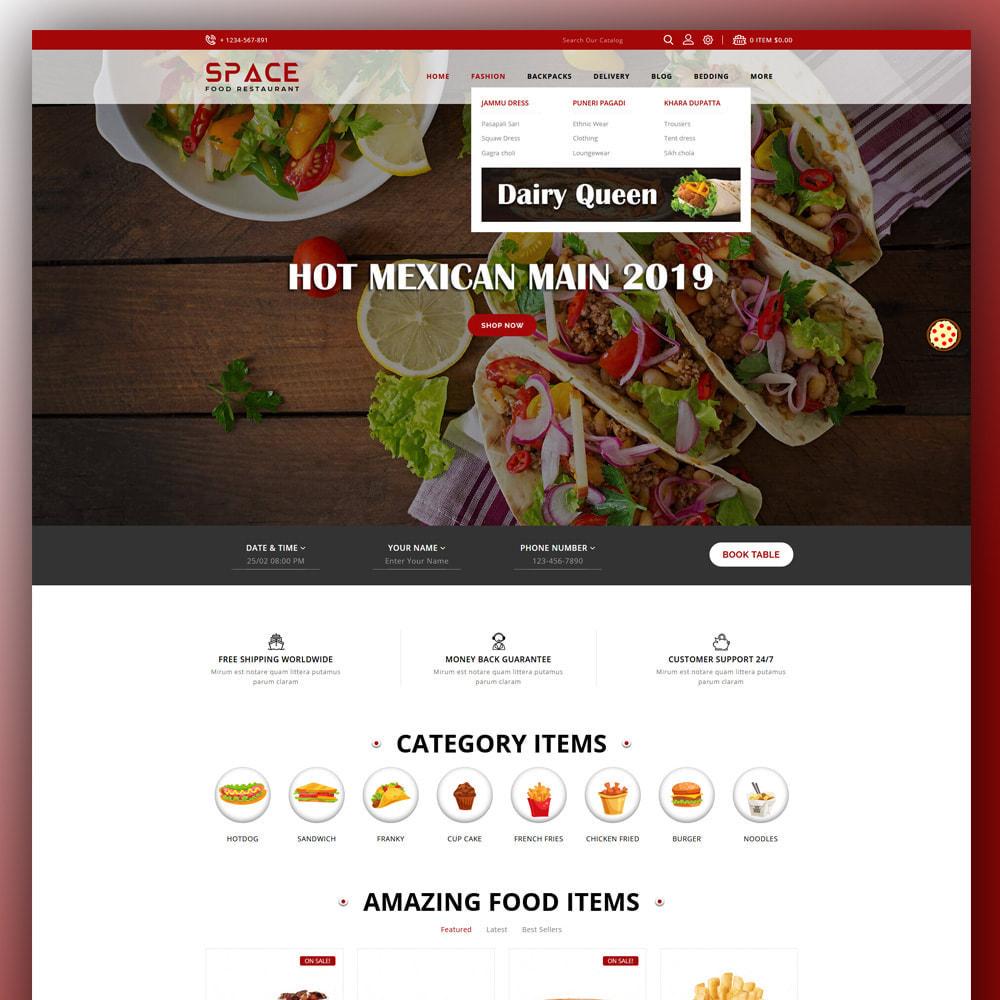theme - Eten & Restaurant - Space - Food Restaurant - 2