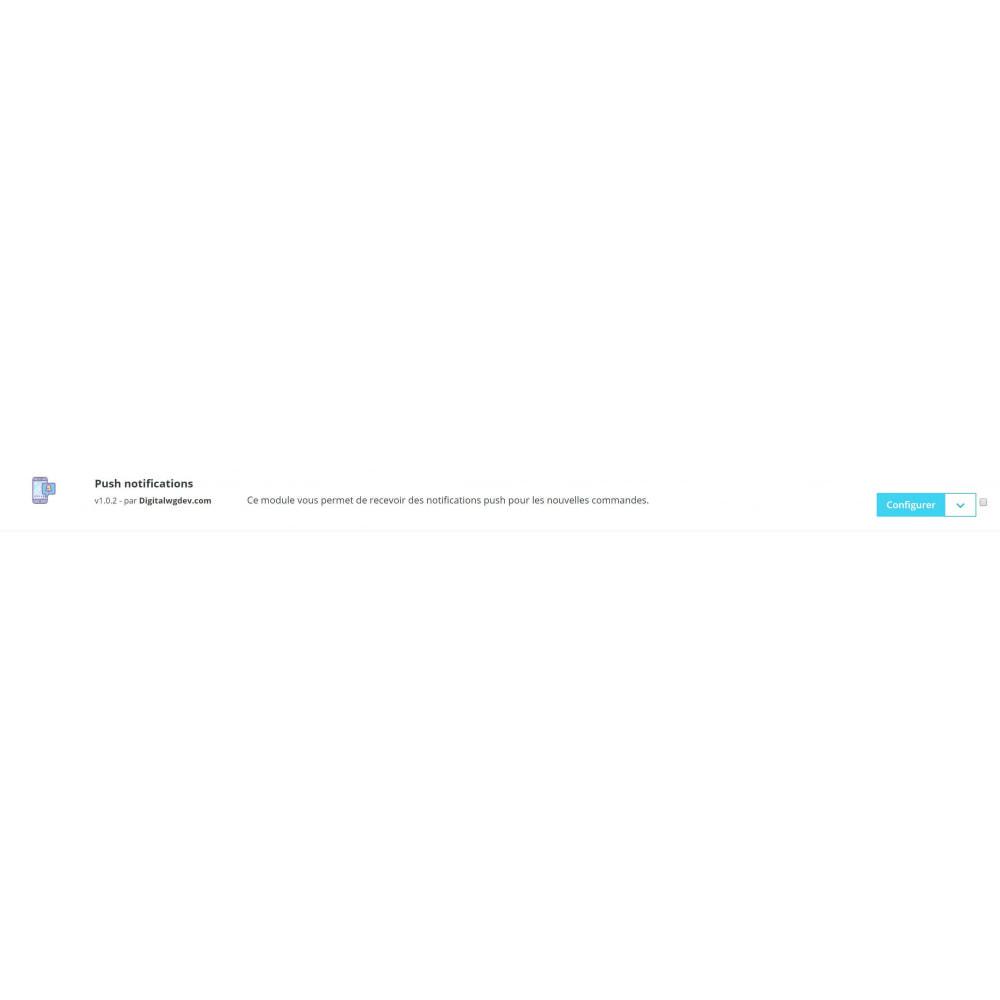 module - Gestion des Commandes - Pushwg notification - 3