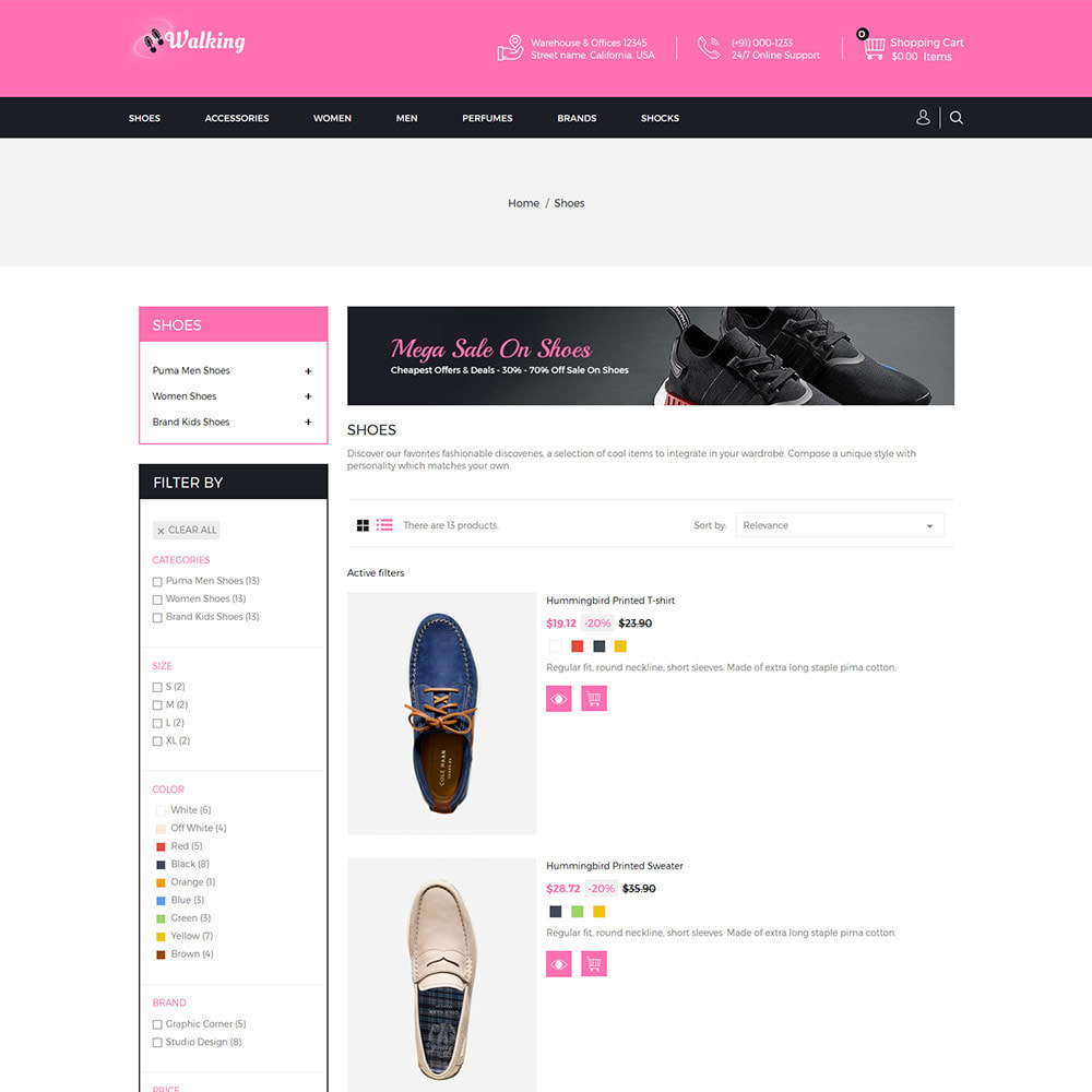 theme - Moda & Calçados - Shoes Slipper - Loja de Calçados de Moda - 7