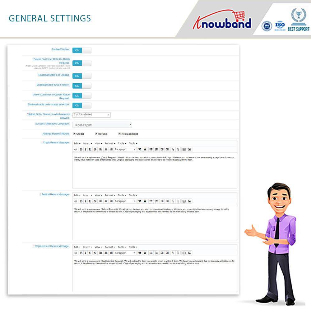 module - Klantenservice - Knowband - Order Return Manager(Return Slip & Barcode) - 9