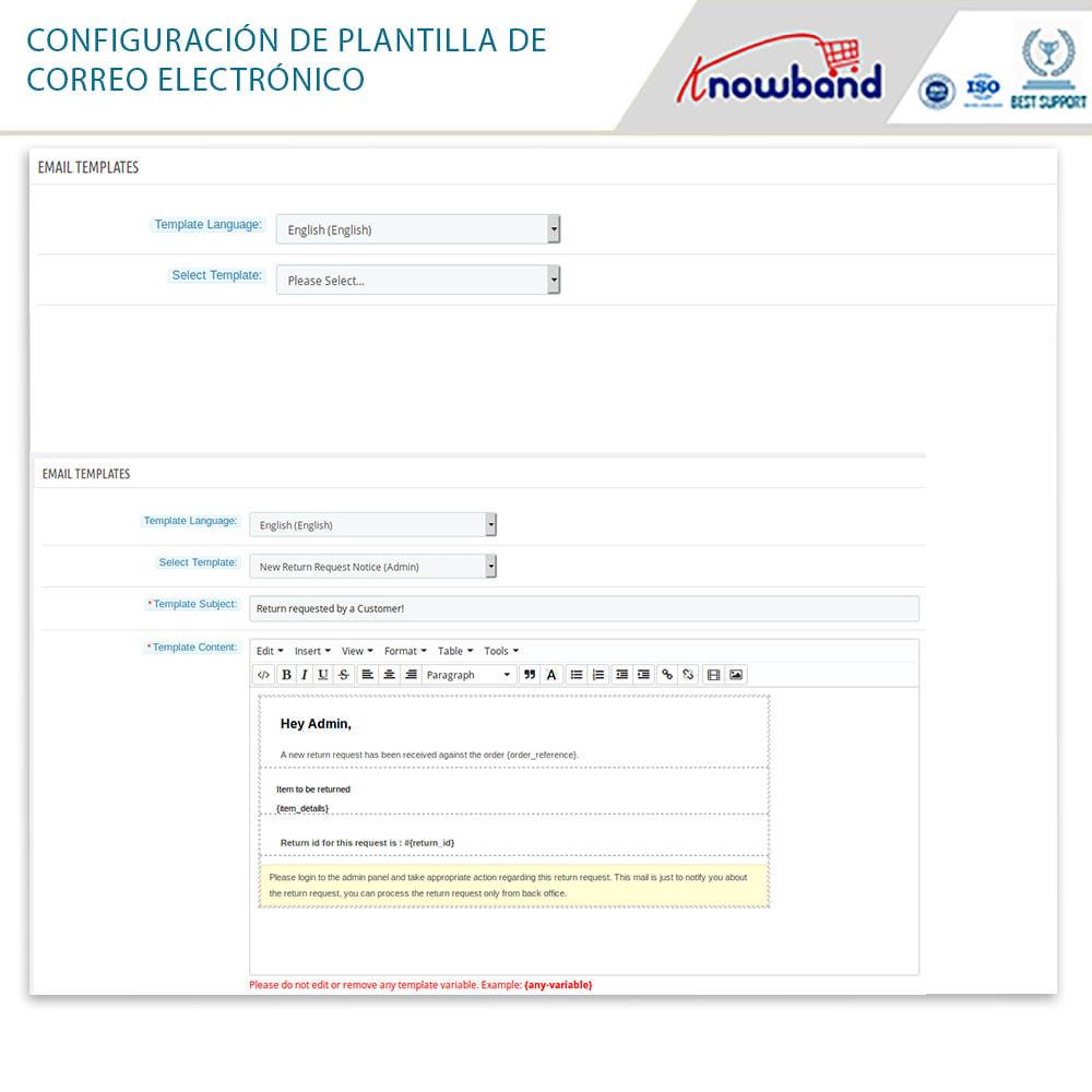 module - Servicio posventa - Knowband - Gestor de Devolución de Pedidos - 16