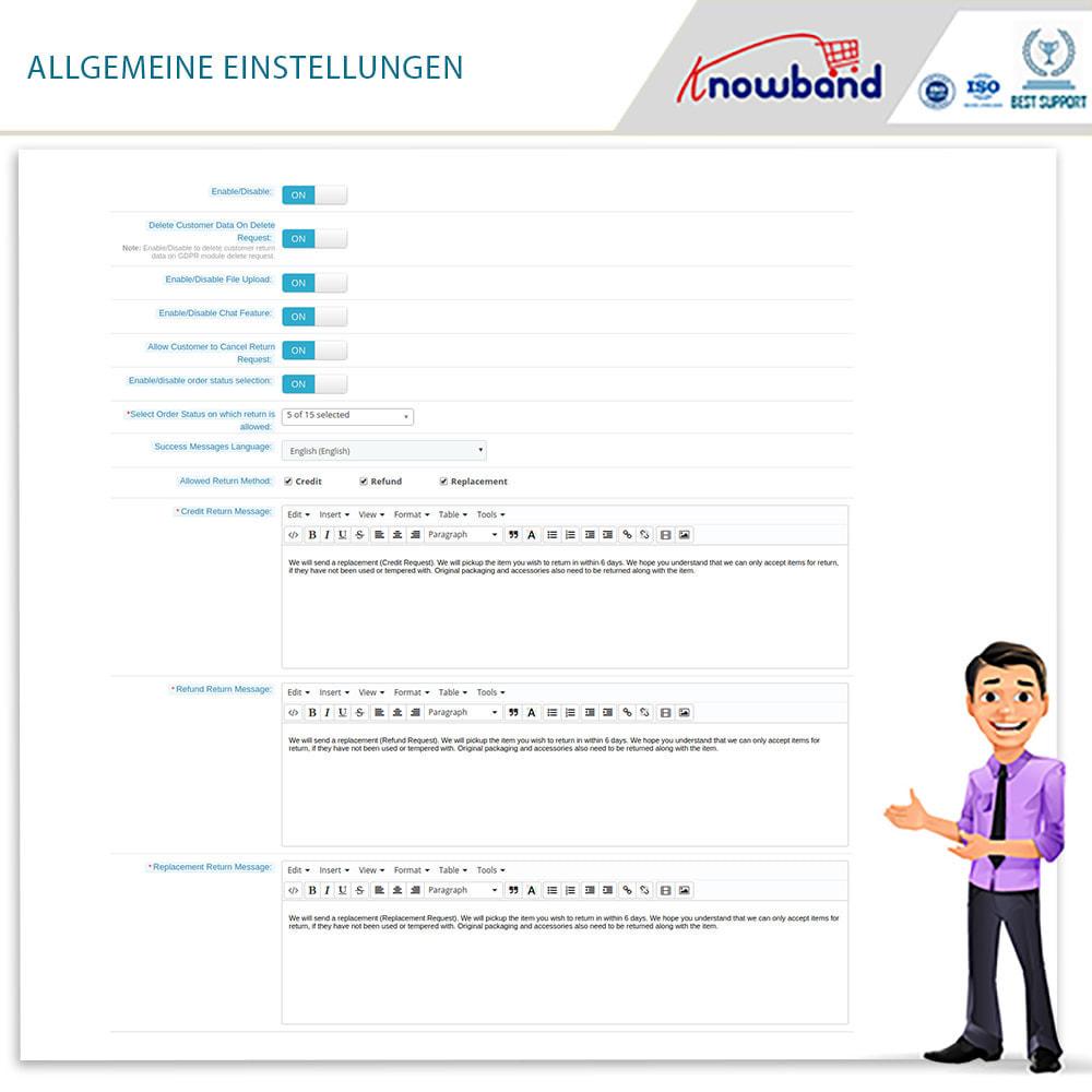 module - Kundenservice - Knowband - Bestellrückleiter-Rückschein mit Barcode - 9