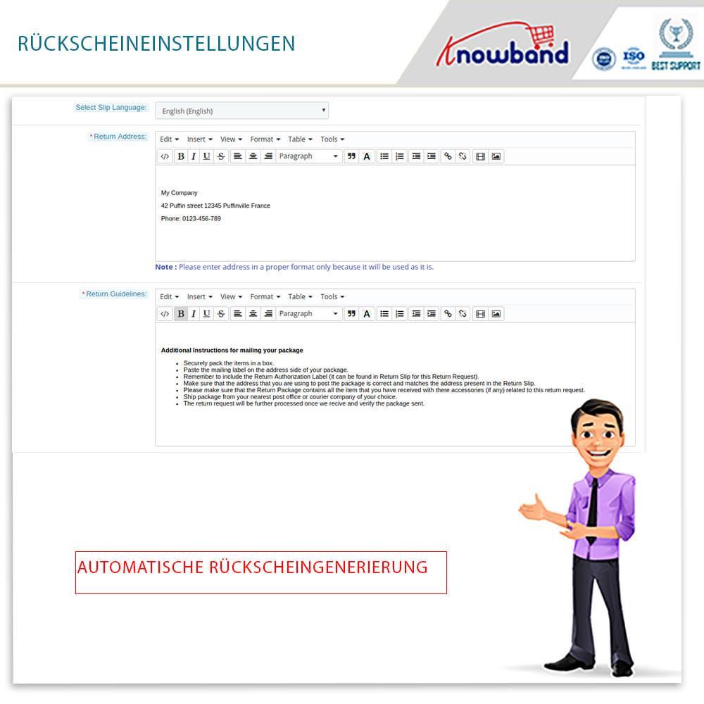 module - Kundenservice - Knowband - Bestellrückleiter-Rückschein mit Barcode - 11