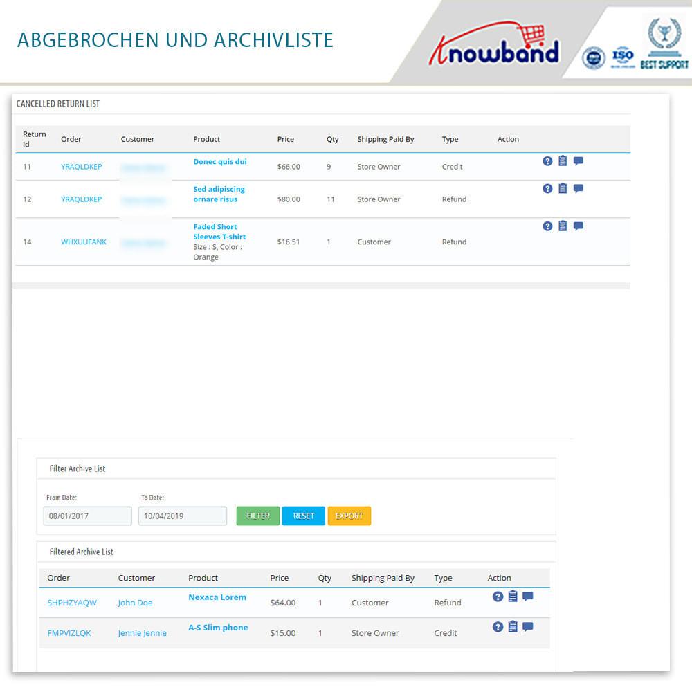 module - Kundenservice - Knowband - Bestellrückleiter-Rückschein mit Barcode - 19