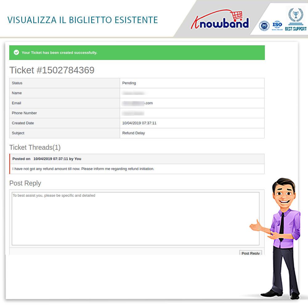 module - Servizio post-vendita - Knowband - Gestore Ordini di Restituzione - 7