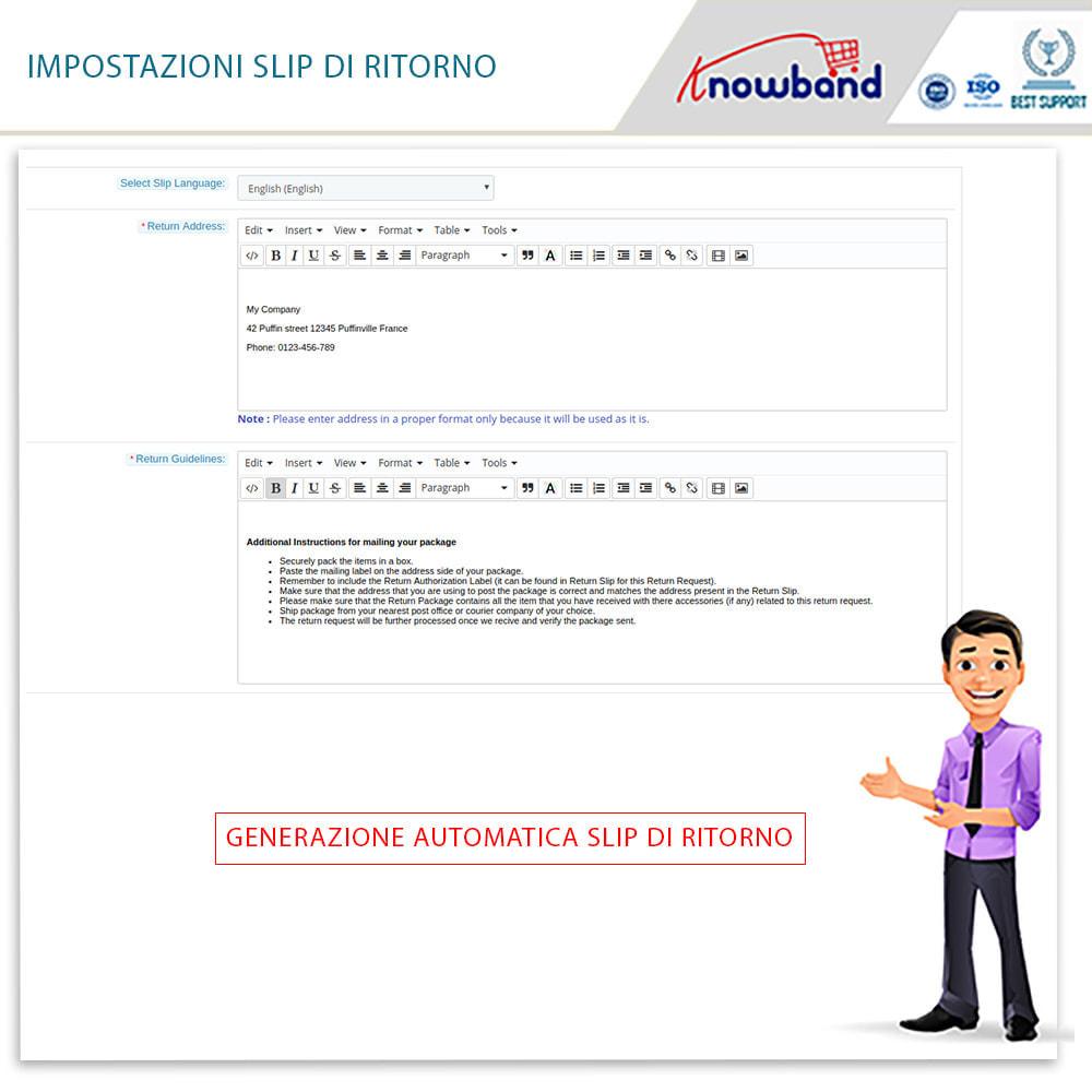 module - Servizio post-vendita - Knowband - Gestore Ordini di Restituzione - 11
