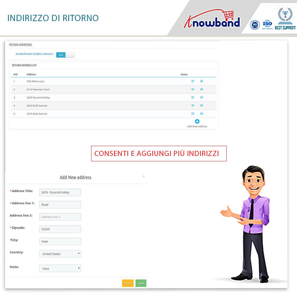 module - Servizio post-vendita - Knowband - Gestore Ordini di Restituzione - 15