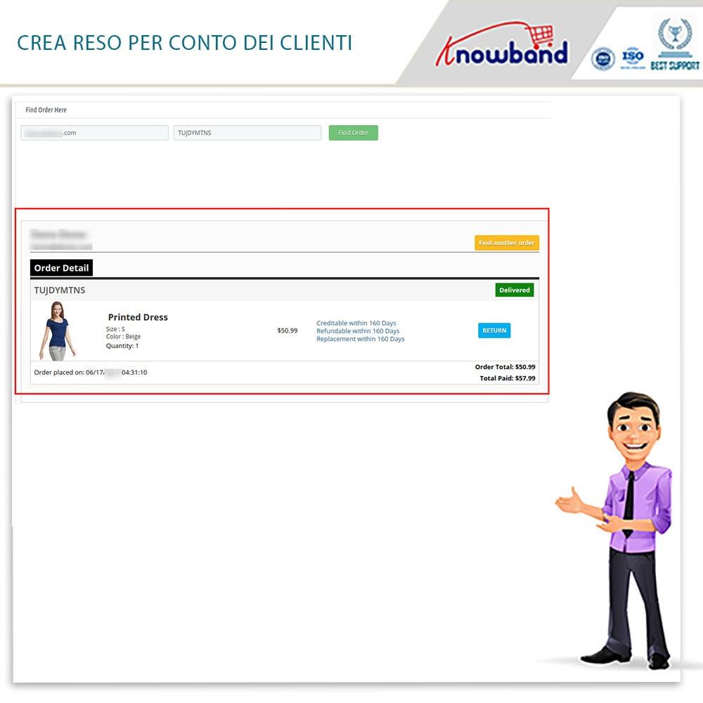 module - Servizio post-vendita - Knowband - Gestore Ordini di Restituzione - 16