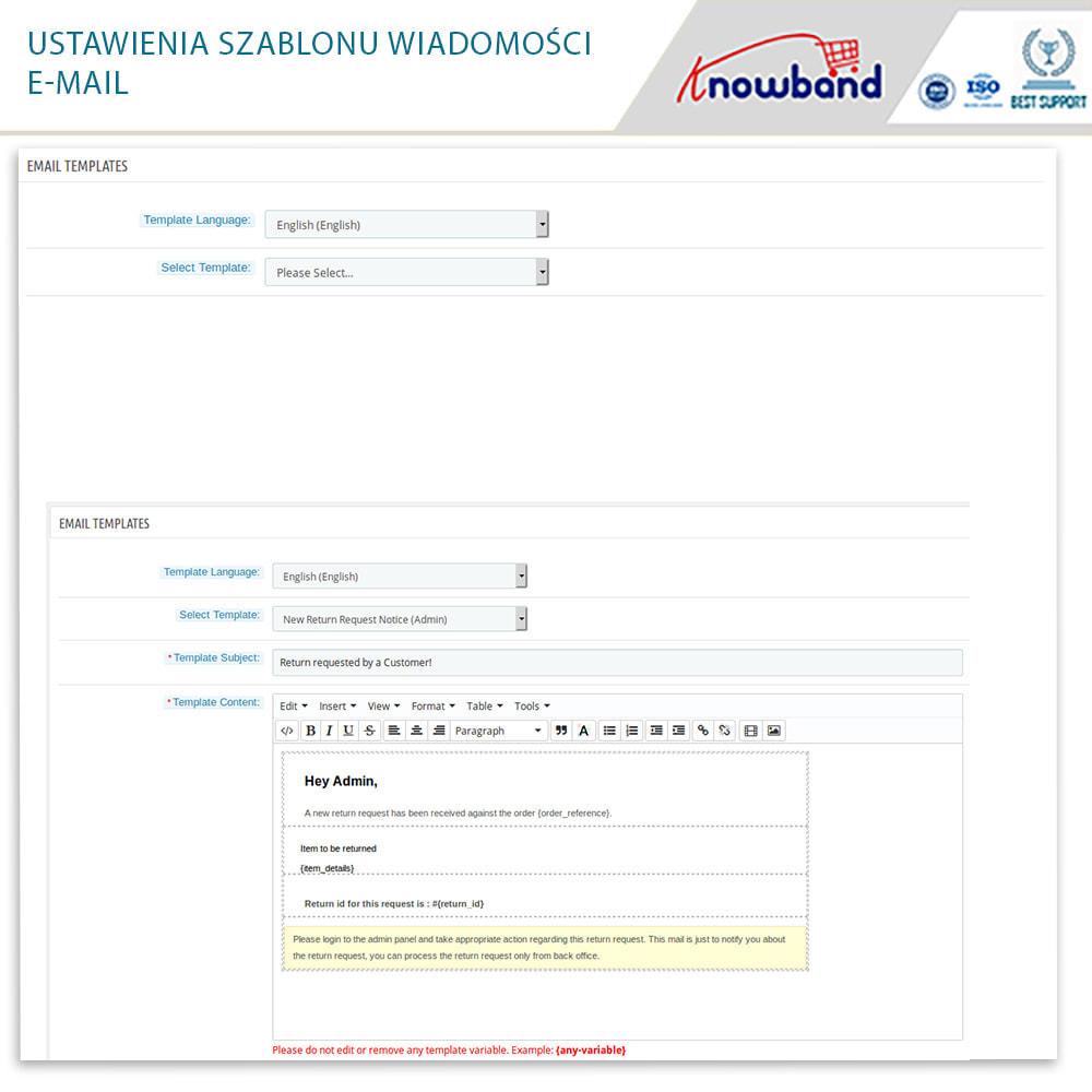 module - Serwis posprzedażowy - Knowband - Order Return Manager(Return Slip & Barcode) - 17