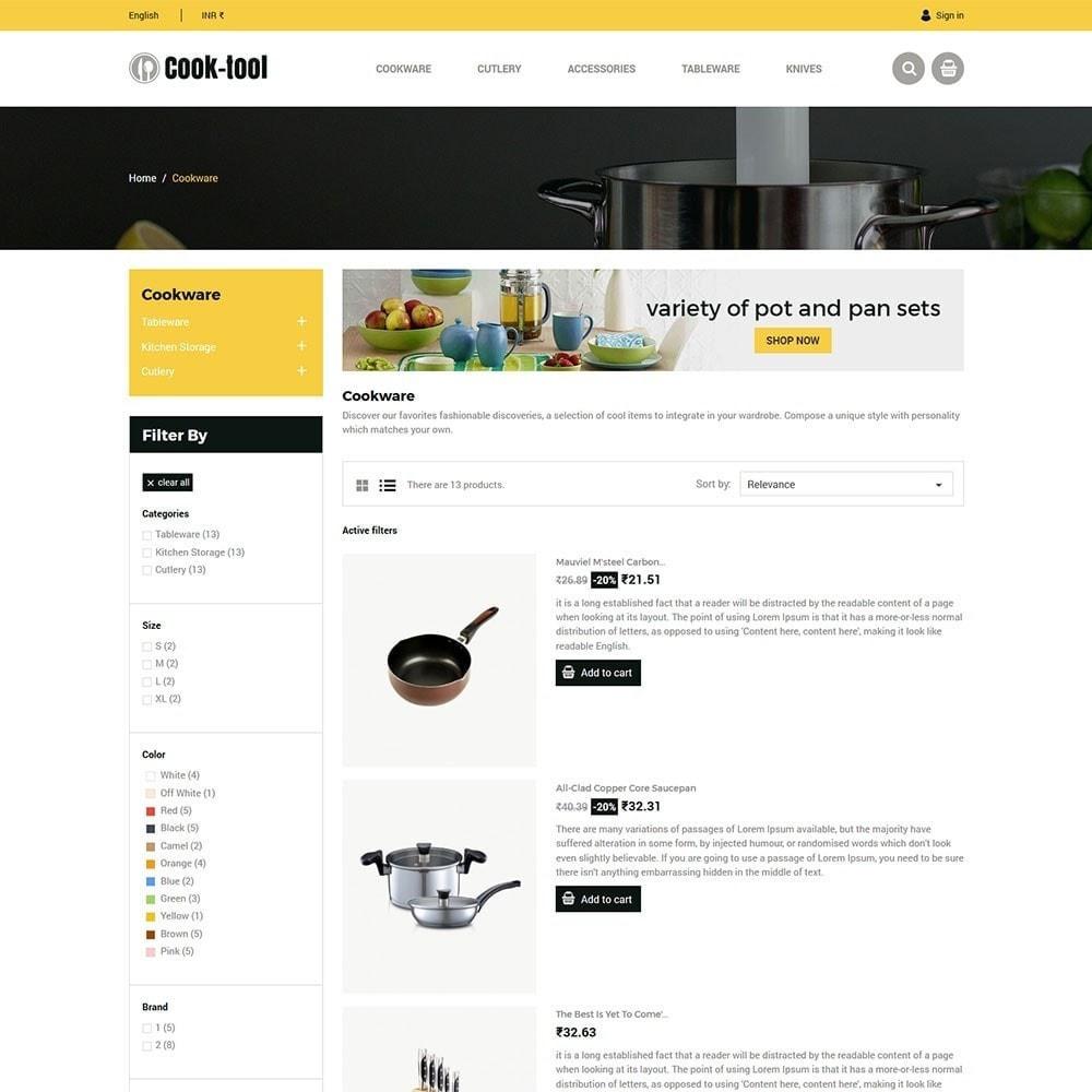 theme - Dom & Ogród - Narzędzie do gotowania - sklep Kitchen Art Decor - 5