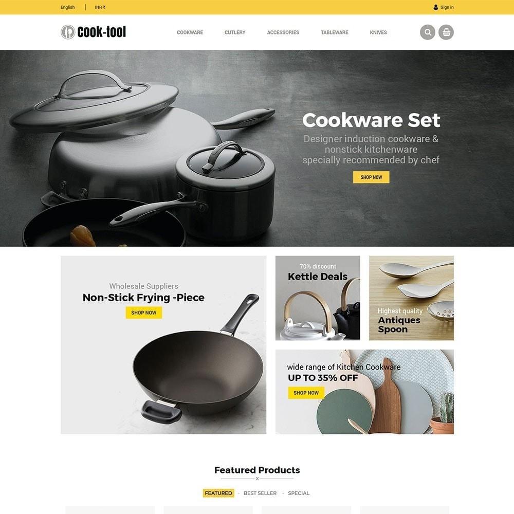 theme - Casa & Jardins - Cook tool - Loja de Arte e Decoração de Cozinha - 3