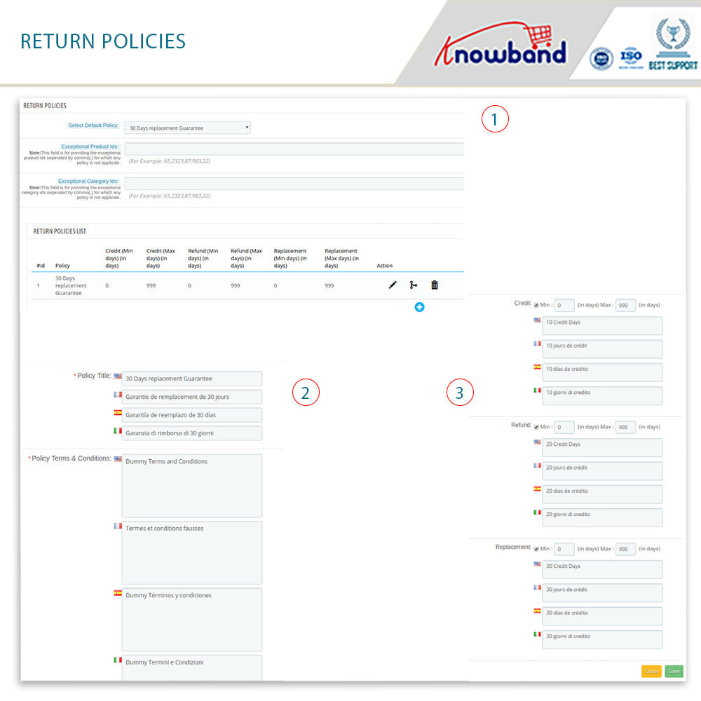 module - Customer Service - Knowband - Order Return Manager(Return Slip & Barcode) - 12