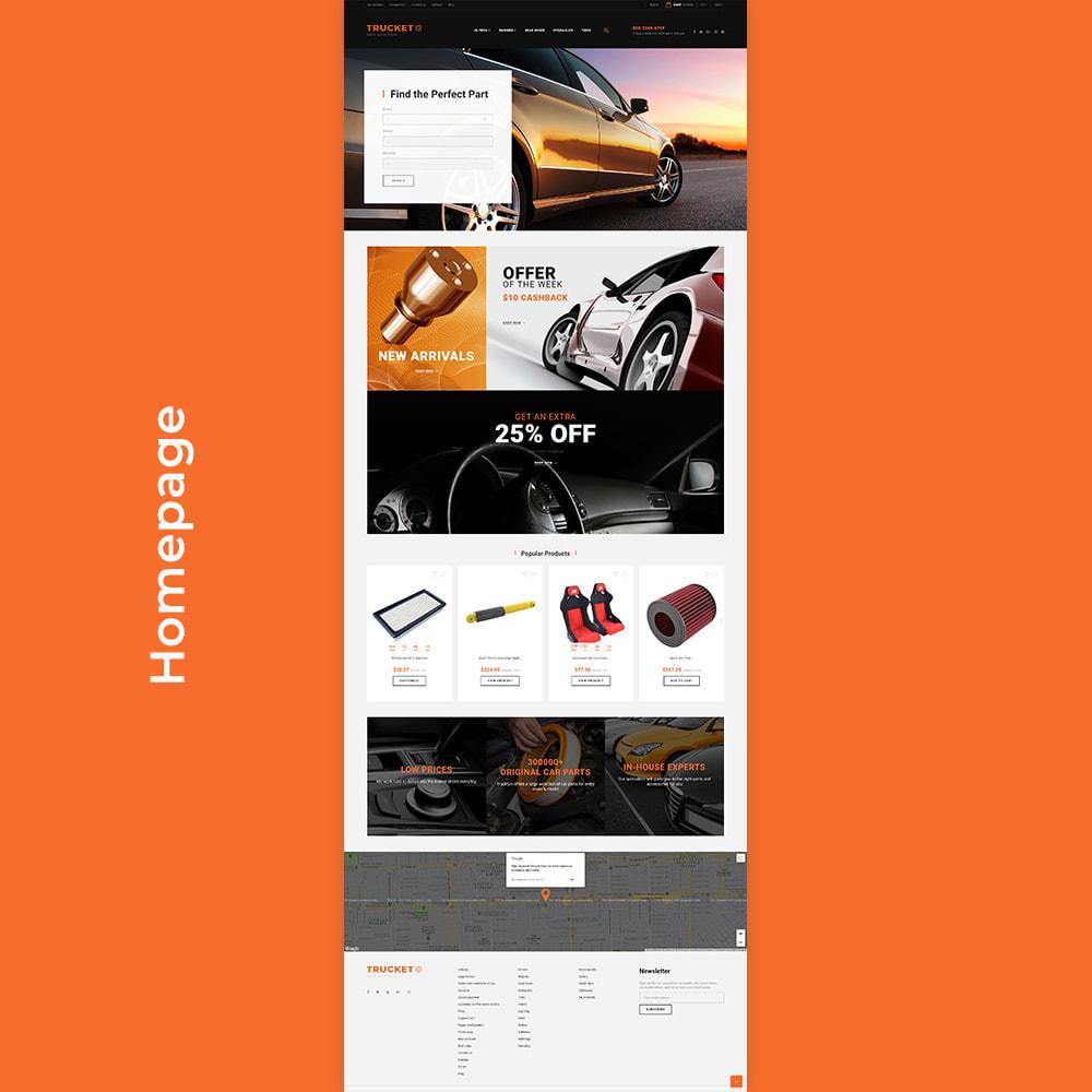 theme - Авто и Мото - Trucket - Spare Parts Store - 5
