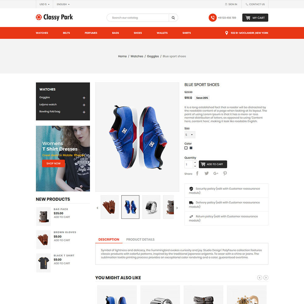 theme - Mode & Chaussures - Mode classique - Magasin d'accessoires pour - 6