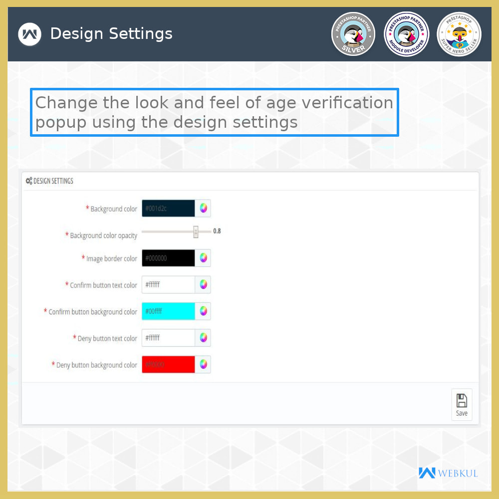 module - Sicherheit & Berechtigungen - Age Verification | Restrict Underage Users - 7