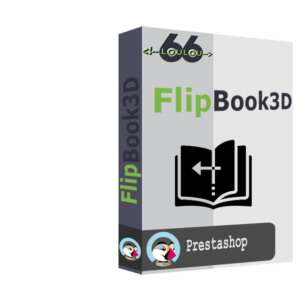 module - Visuels des produits - Flipbook 3D - 1