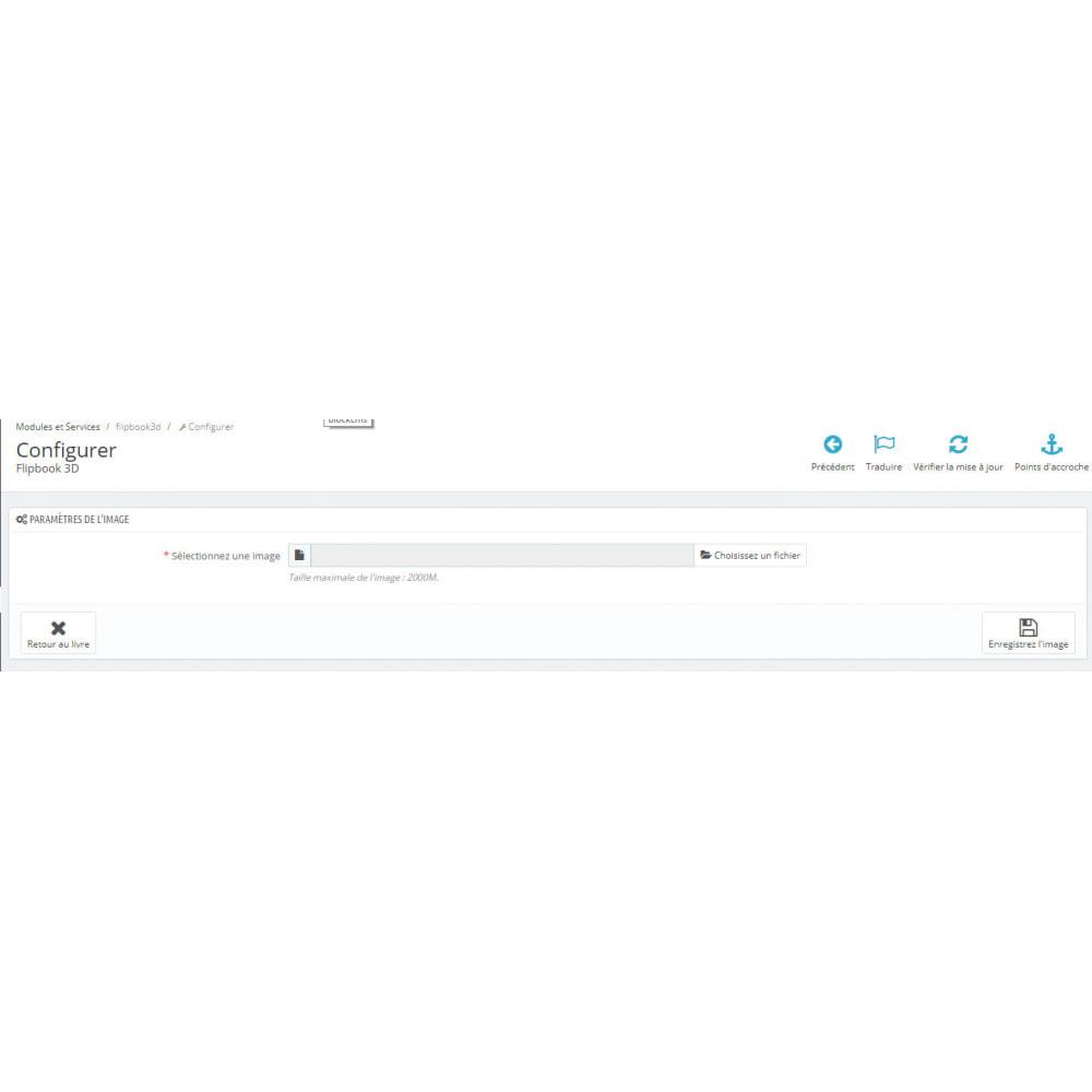 module - Visuels des produits - Flipbook 3D - 6