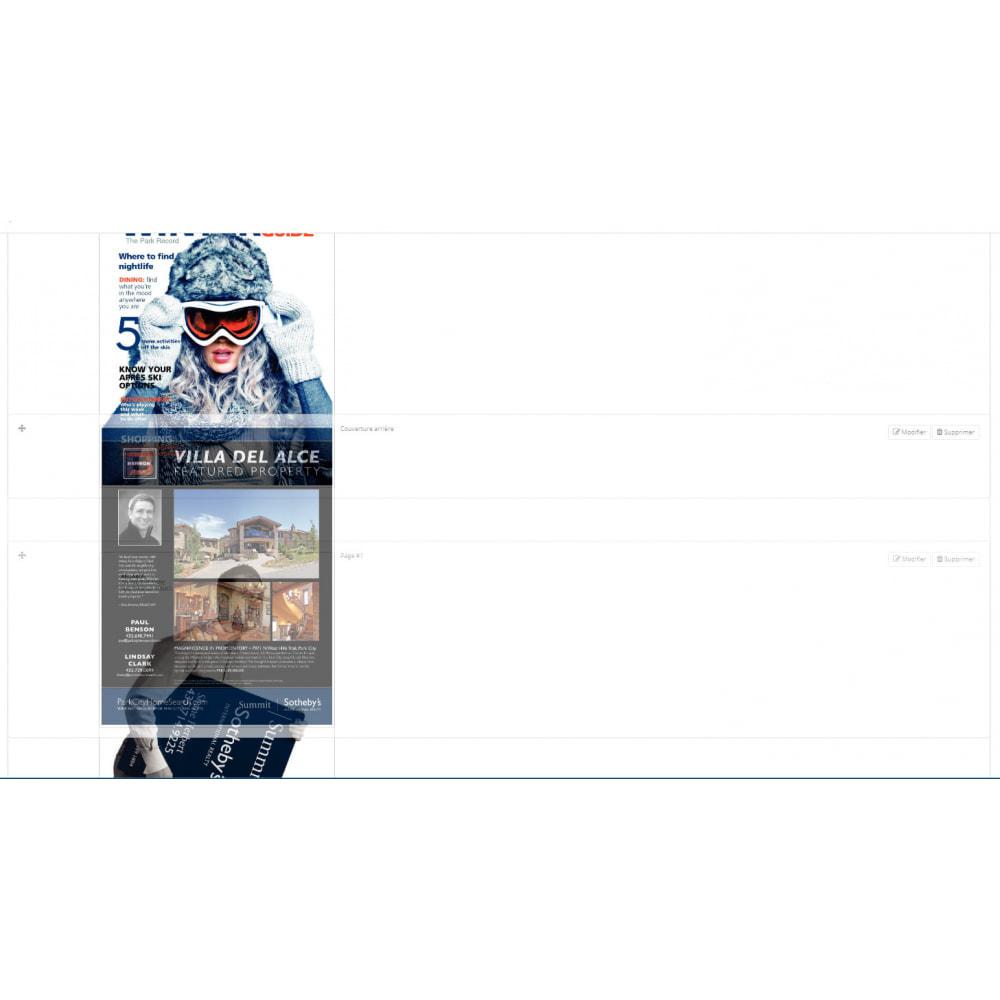 module - Visuels des produits - Flipbook 3D - 9